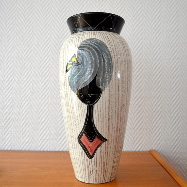 Vase  Céramique Italienne années 50 – 60