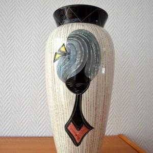 Vase céramique Années 50:60 vintage 7