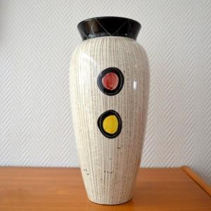 Vase céramique Années 50:60 vintage 8