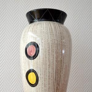 Vase céramique Années 50:60 vintage 9