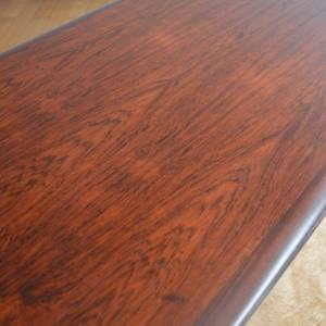 table basse bois de rose années 70 vintage 21