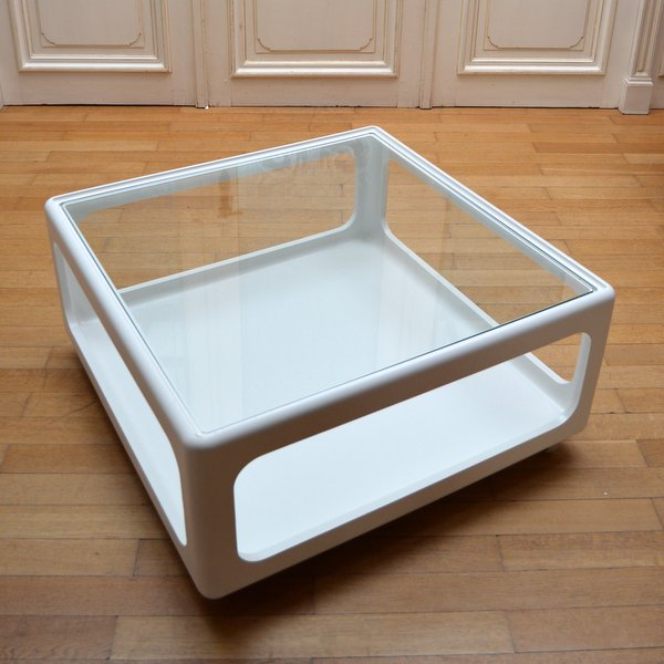 Grande Table Basse par Peter Ghyczy pour Horn Collection