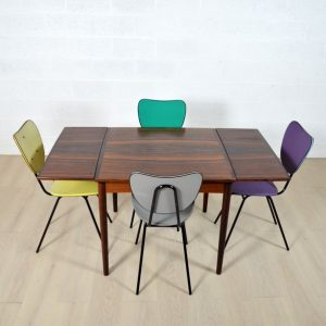 Table scandinave palissandre 2