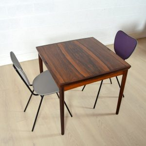 Table scandinave palissandre 22