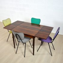 Table scandinave palissandre 6