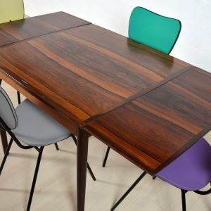 Table scandinave palissandre 7