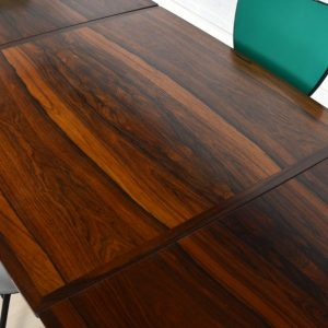 Table scandinave palissandre 8