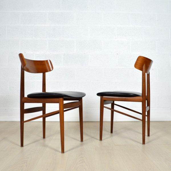Deux chaises Danoise années 60
