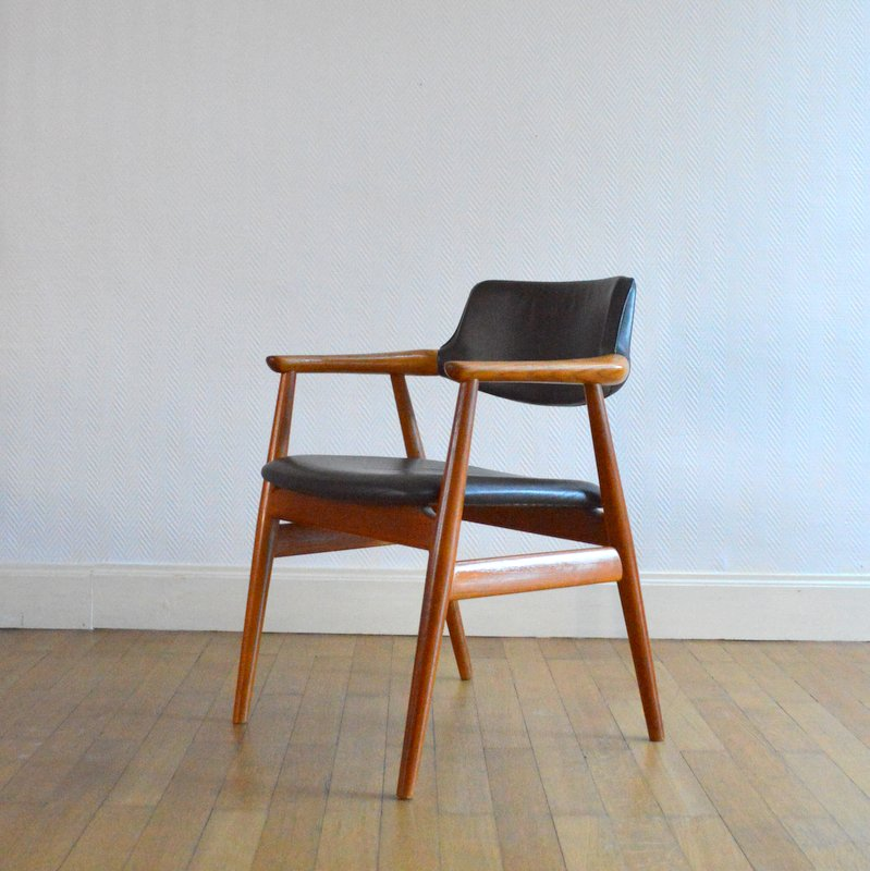 chaise erik kirkegaard glostrup danemark ann es 60. Black Bedroom Furniture Sets. Home Design Ideas