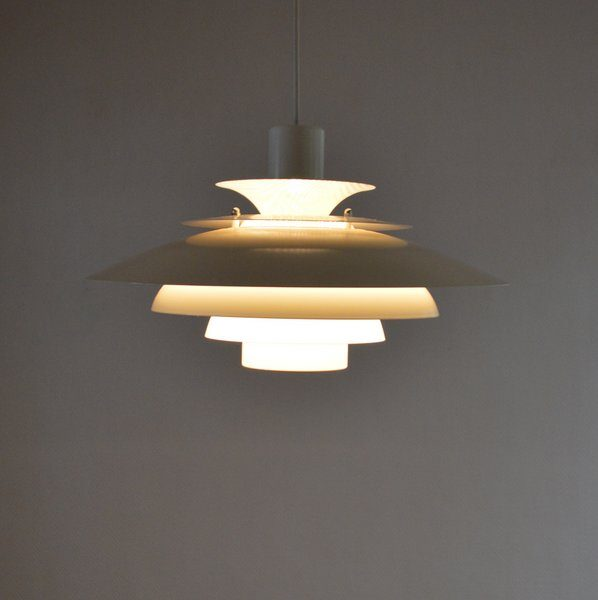 Suspension scandinave Danalight années 70