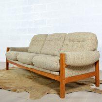 Canapé – sofa Danois années 60 vintage 27