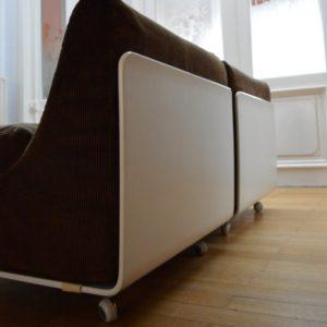 Deux fauteuils Orbis par Luigi Colani pour Cor 1969 vintage 11