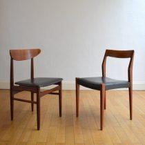 2 chaises années 60 scandinave vintage 2