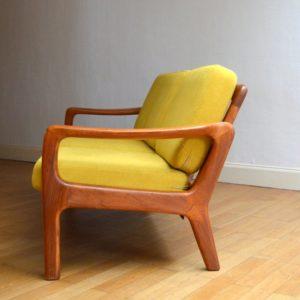 Banquette – sofa – Daybed scandinave vintage 14