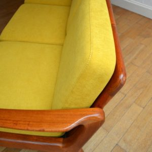 Banquette – sofa – Daybed scandinave vintage 19
