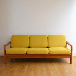Banquette – sofa – Daybed scandinave vintage 2