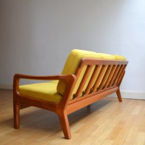 Banquette – sofa – Daybed scandinave vintage 34