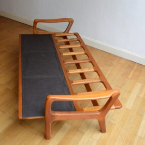 Banquette – sofa – Daybed scandinave vintage 52