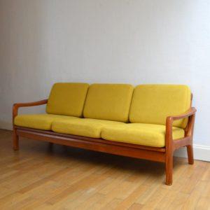 Banquette – sofa – Daybed scandinave vintage 7