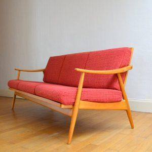 Banquette – sofa scandinave vintage 12