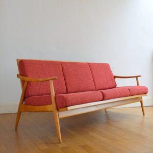 Banquette – sofa scandinave vintage 17