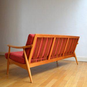Banquette – sofa scandinave vintage 31