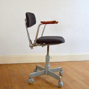 Chaise de bureau années 50 vintage 22