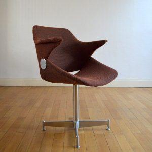 Chaise de bureau années 50 vintage 42