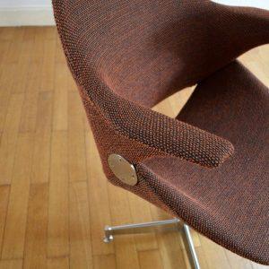 Chaise de bureau années 50 vintage 43