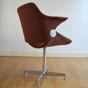 Chaise de bureau années 50 vintage 44