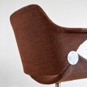Chaise de bureau années 50 vintage 46