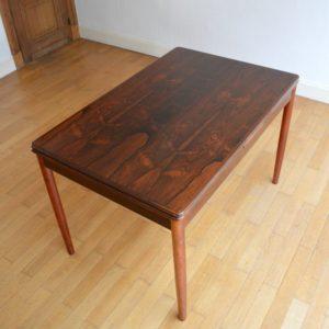 Table à manger Niels O. Møller palissandre de Rio vintage 11