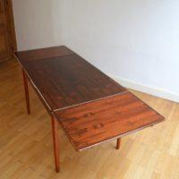 Table à manger Niels O. Møller palissandre de Rio vintage 33