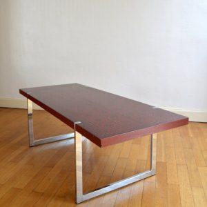 Table basse années 60 : 70 vintage 1