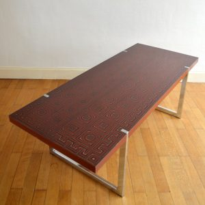 Table basse années 60 : 70 vintage 35