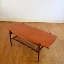 Table basse louis van teeffelen vintage 9