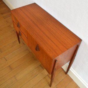 petite commode scandinave teck 16