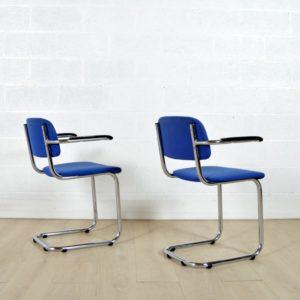 6 chaises Gispen vintage 20