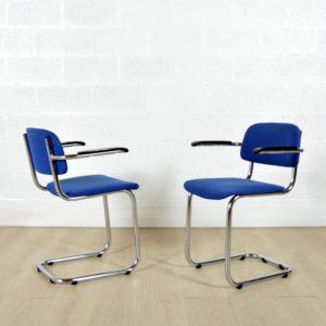 6 chaises Gispen vintage 25