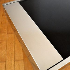 Table basse : Table bar Willy Rizzo 1970 vintage 33