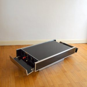 Table basse : Table bar Willy Rizzo 1970 vintage 8