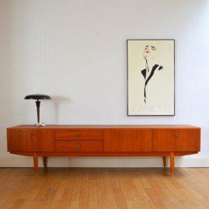 enfilade ann es 50 teck. Black Bedroom Furniture Sets. Home Design Ideas