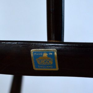 Paire de chaises Ercol vintage 17