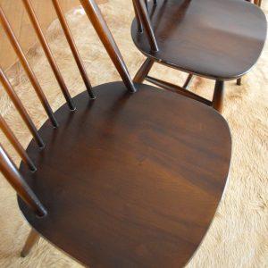 Paire de chaises Ercol vintage 40