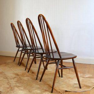 Paire de chaises Ercol vintage 42