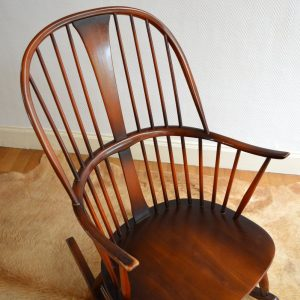 Rocking chair années 50 vintage 12