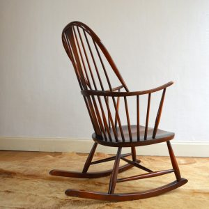 Rocking chair années 50 vintage 14