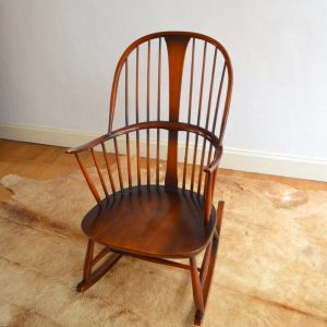 Rocking chair années 50 vintage 25