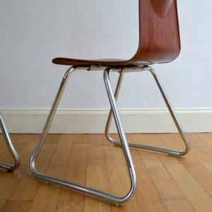 chaises Pagholz années 60 vintage 17