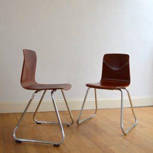 chaises Pagholz années 60 vintage 6